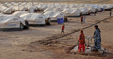 krg kurdish refugee camp