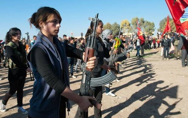 YPJ Syrian Kurds Getty Images