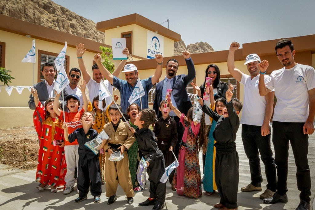 Rwanga Foundation completes new primary school in Iraqi Kurdistan.