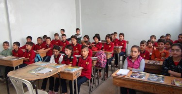 kurdish students in efrin canton rojava